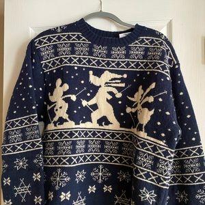 Disney Ski sweater